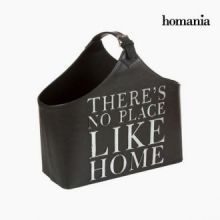 Portariviste nera con cintura by Homania