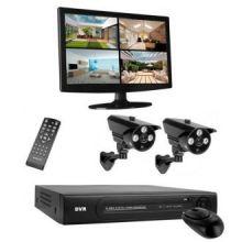 Sistema di Videosorveglianza HD Smartwares DVR724S