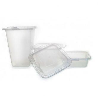 Set Contenitori in Plastica (20 Pezzi)