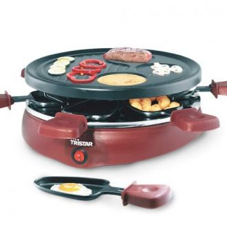 Grill Gourmet per Raclette con 6 Tegami Tristar RA2991