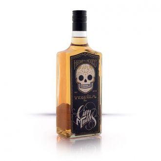 Tequila Cien Malos Golden