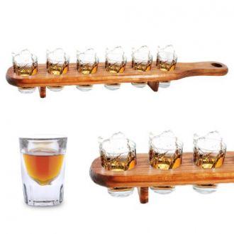 Porta Bicchierini di Legno