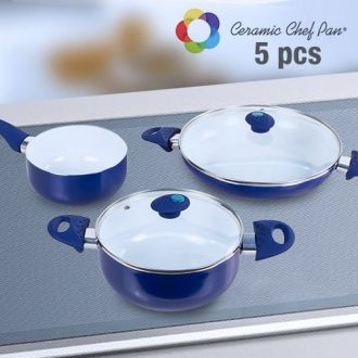 Padelle Ceramic Chef Pan (5 pezzi)