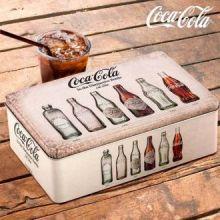 Scatola Vintage in Metallo Coca-Cola