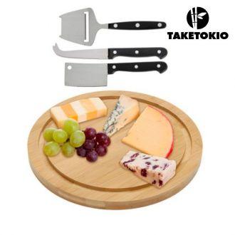 Tagliere Formaggio in Bamboo TakeTokio (4 pezzi)