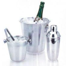 Set di Secchielli per il Ghiaccio e Shaker per Cocktail (4 pezzi)