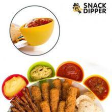 Ciotole da Salsa Snack Dipper (pacco da 4)
