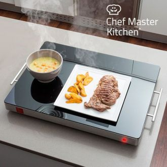 Piastra Scaldavivande Chef Master Kitchen