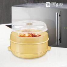 Recipiente per Cottura a Vapore in Microonde Tap It Tap