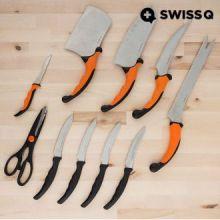 Set di Coltelli Swiss Q Ergo (10 pezzi)