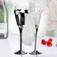 Bicchieri da Champagne Sposa e Sposo