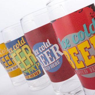 Bicchiere da Birra Ice Cold Beer