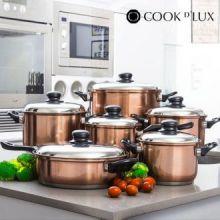 Batteria da Cucina Cook D'Lux (12 pezzi)
