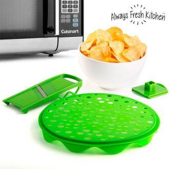 Kit per Fare Patatine Fritte Crispy Crisp+