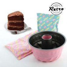 Kit Retro per Preparare Bundt Cake al Cioccolato