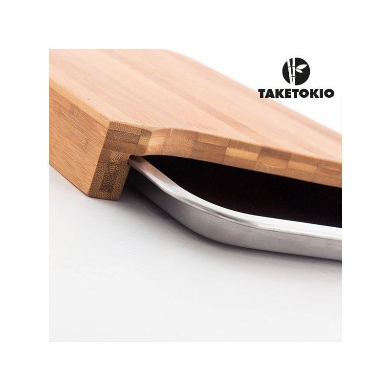 Tagliere da Cucina in Bambù TakeTokio con Vassoio