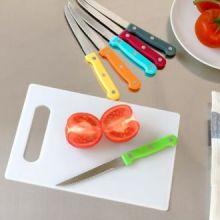 Set di Coltelli con Tagliere Colors (7 pezzi)
