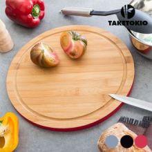 Tagliere Circolare in Bambù TakeTokio