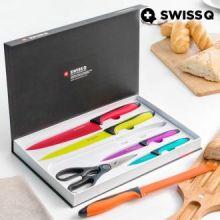 Coltello in Acciaio Inossidabile Swiss Q Quality (6 pezzi)