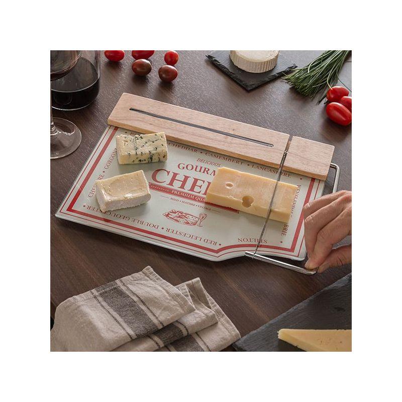 Tavole Da Cucina : Tagliere da cucina con lama per formaggi