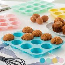 Stampo in Silicone per 12 Muffin