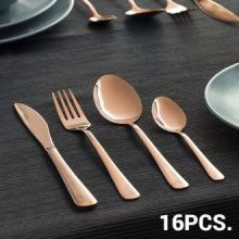 Posate per 4 Persone Copper Style (16 pezzi)