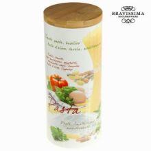 Barattolo di pasta mediterraneo - Kitchen's Deco Collezione by Bravissima Kitchen