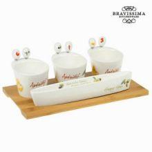 Vassoio aperitivo mediterraneo - Kitchen's Deco Collezione by Bravissima Kitchen