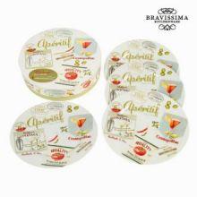 Set porcellana apéritif - aperitivo - Kitchen's Deco Collezione by Bravissima Kitchen