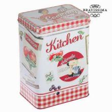 Scatola di metallo rosso kitchin - Kitchen's Deco Collezione by Bravissima Kitchen