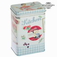 Scatola di metallo blu kitchin - Kitchen's Deco Collezione by Bravissima Kitchen