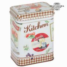 Scatola di metallo marrone kitchin - Kitchen's Deco Collezione by Bravissima Kitchen