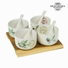Set aperitivo porcellana lounge - Kitchen's Deco Collezione by Bravissima Kitchen