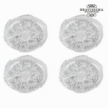 Piatto roses - Pure Crystal Kitchen Collezione by Bravissima Kitchen