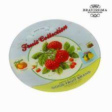 Piatto rotondo fruits - Kitchen's Deco Collezione by Bravissima Kitchen