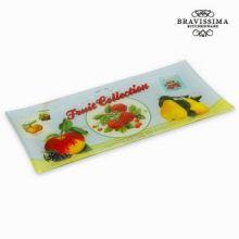 Piatto rettangolare fruits - Kitchen's Deco Collezione by Bravissima Kitchen