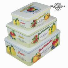 Set 3 scatole fruits - Kitchen's Deco Collezione by Bravissima Kitchen