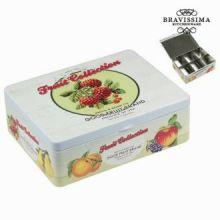 Scatola fruits da tè - Kitchen's Deco Collezione by Bravissima Kitchen