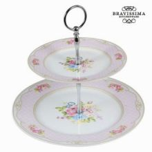 Antipastiere bouquet rosa - Kitchen's Deco Collezione by Bravissima Kitchen