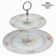 Antipastiere bouquet bianco - Kitchen's Deco Collezione by Bravissima Kitchen