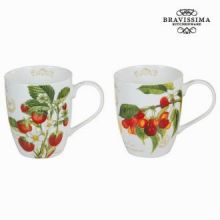 Set 2 tazze fruits garden - Kitchen's Deco Collezione by Bravissima Kitchen
