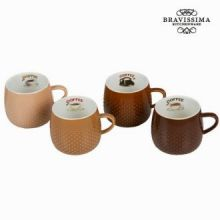 Set 4 tazze coffee - Kitchen's Deco Collezione by Bravissima Kitchen