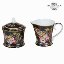 Set lattiera zuccheriera bloom - Kitchen's Deco Collezione by Bravissima Kitchen