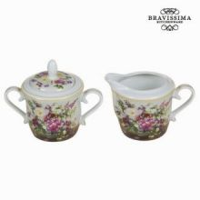 Set lattiera e zuccheriera bouque - Kitchen's Deco Collezione by Bravissima Kitchen