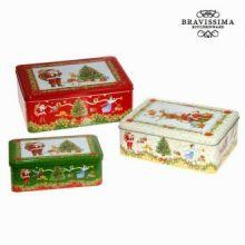 Set 3 scatole di natale by Bravissima Kitchen