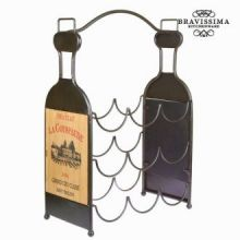 Portabottiglie 9 bottiglie - Art & Metal Collezione by Bravissima Kitchen