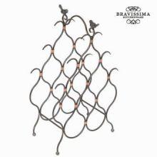 Portabottiglie metallo 8 bottiglie - Art & Metal Collezione by Bravissima Kitchen