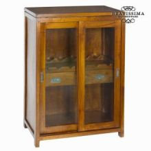 Porta bottiglie 2 cassetti - Serious Line Collezione by Bravissima Kitchen