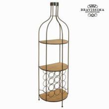 Porta bottiglie di metallo e legno by Bravissima Kitchen