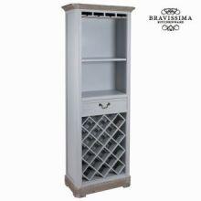 Porta bottiglie daphne con cassetto - Sweet Home Collezione by Bravissima Kitchen